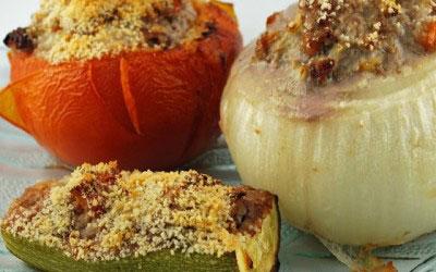 Recette Provence Gourmet des Légumes Farçis