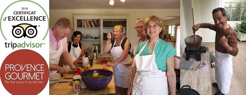 Cooking in Aix