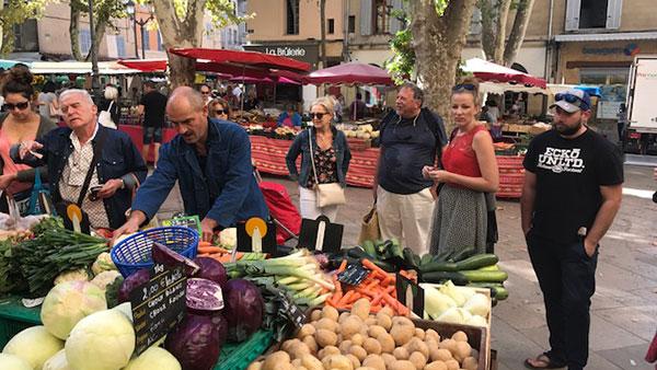 Provence Gourmet sur le marché