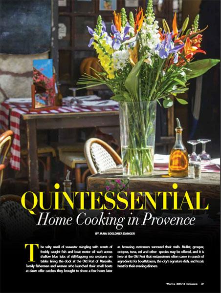 Provence Gourmet on Opulence Magazine